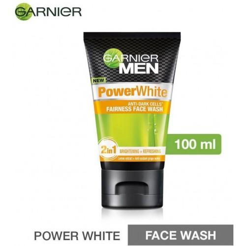 Garnier Men Power White Face Wash (100 ml)