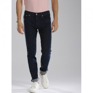 Levis Men Blue H217 Skinny Fit Mid-Rise Clean Look Stretchable Jeans