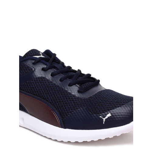 Puma Blue Sports Shoes For Men
