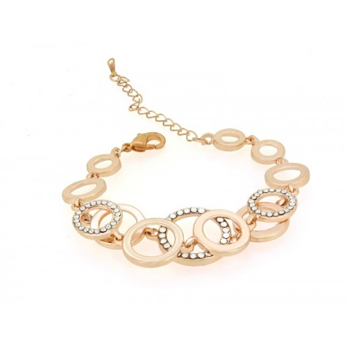 Nakabh Alloy Gold-plated Bracelet
