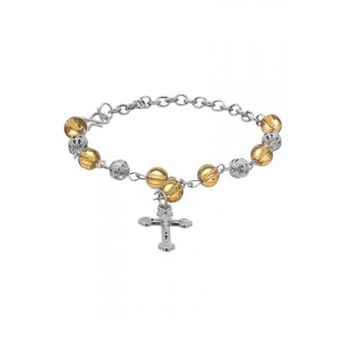 773ebd775 Buy Voylla Cool   Chic Pretty Yellow Beaded Bracelet online ...