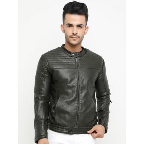 Showoff Full Sleeve Solid Men's Jacket