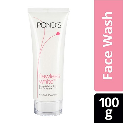 Pond's Flawless White Deep Whitening Facial Foam, 100g