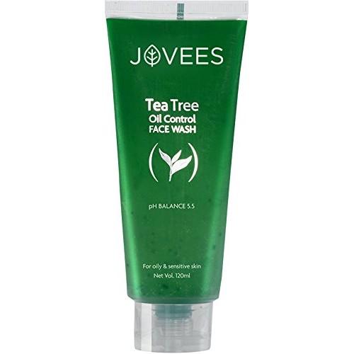 Jovees Tea Tree Oil Control Face Wash, 120ml