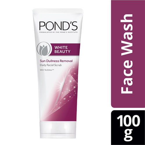 Ponds White Beauty Sun Dullness Removal Daily Facial Scrub