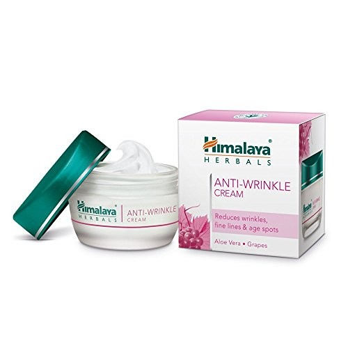Himalaya Herbals Anti Wrinkle Cream, 50g