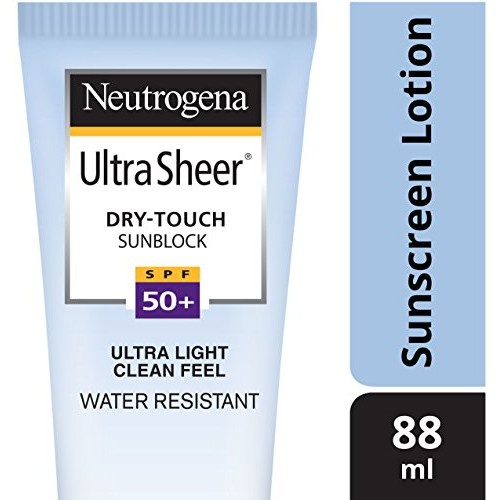 Neutrogena Ultra Sheer Dry-Touch SPF 50+ Sunblock, 88ml