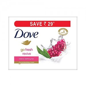 Dove Go Fresh Revive Beauty Bar, 100g (Pack of 3)