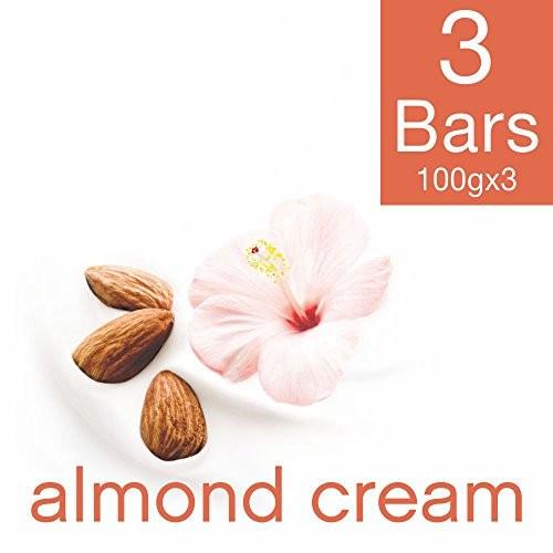 Dove Almond Cream Beauty Bathing Bar, 100g (Pack of 3)