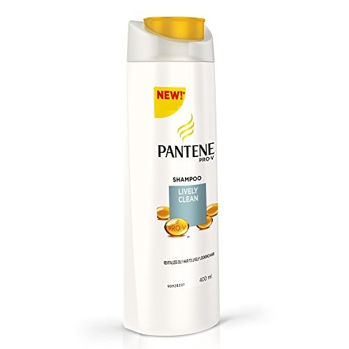 Pantene Lively Clean Shampoo, 400ml