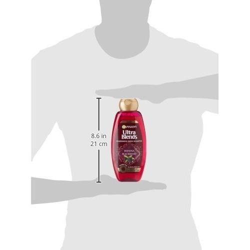 Garnier Ultra Blends Henna Blackberry Shampoo, 360ml