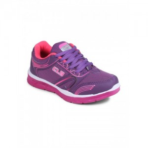 Columbus Purple Synthetic Lace Up Sport Shoes