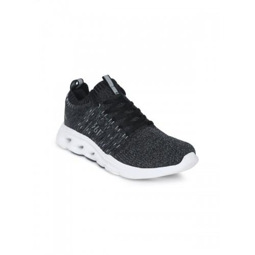 361 Degree Women Black Training Shoes