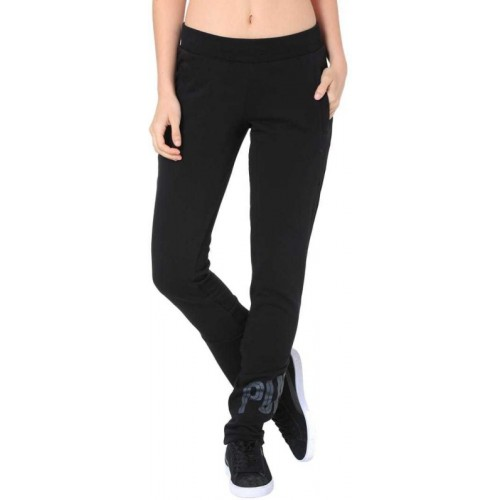 4f285efee198 Buy Puma Grey Cotton Solid Women Track Pants online