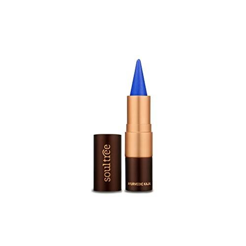 SoulTree Ayurvedic Kajal - 005 True Blue Colour, 3 gm