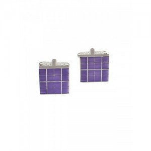Alvaro Castagnino Purple Cufflinks