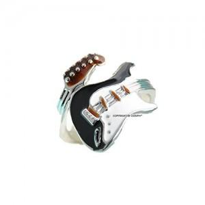 Oomph Jewellery Guitar Rockstar Ring for Women & Girls(RSN15R1)