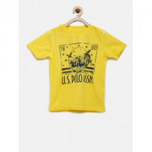 de17fc7ca6 Buy latest Boys's T-Shirts from U.S. Polo Assn. On Myntra online in ...