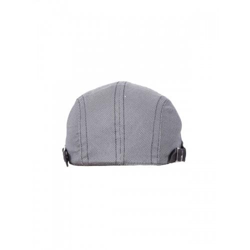 Buy FabSeasons Gray Cotton Golf Flat Cap online  312a7e60036