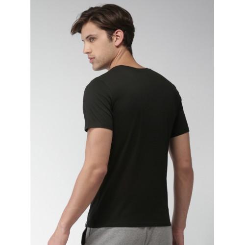 f8570256 Buy Nike Men Black Printed Kyrie Nike DRI-FIT T-shirt online ...