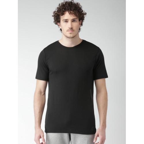 145b5babdb0 Buy Nike Men Black AS NSW TB DRPTL BND Solid Round Neck T-shirt ...
