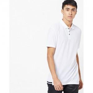 INDIAN TERRAIN Slim Fit Cut & Sew Polo T-shirt