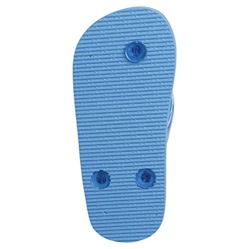 Flipside Kids Blue Rubber Printed Flipflops