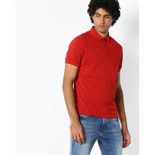 INDIAN TERRAIN Cotton Polo T-shirt