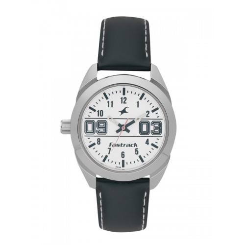 Fastrack Women White Analogue Watch 6171SL01_OR