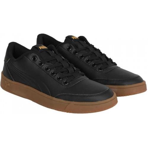 b0015ae4c07d Buy Puma Court Breaker L Mono Sneakers For Men(Black) online ...