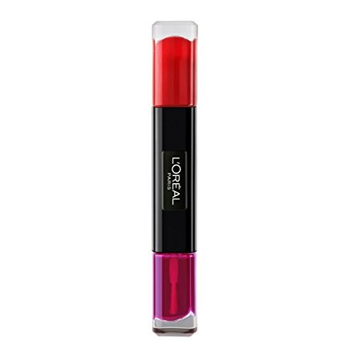 L'Oreal Paris 130 Mon-Drian Red Infallible Gel Nail Paint, Red, 10ml