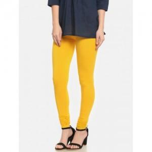 De Moza Yellow Churidar Leggings