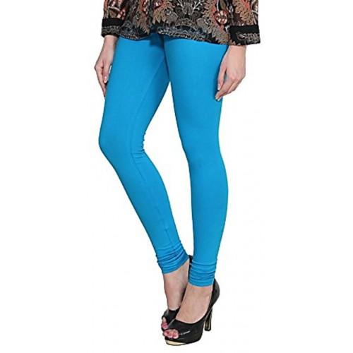 27f52e45c6da07 Alishah Cotton Lycra Premium Leggings For Women And Girl Dark Sky Blue Hot  Yellow ...