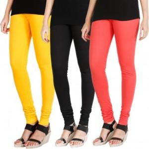 07f399088 Buy M M Garments Multi Color Cotton Lycra Leggings online   Looksgud.in