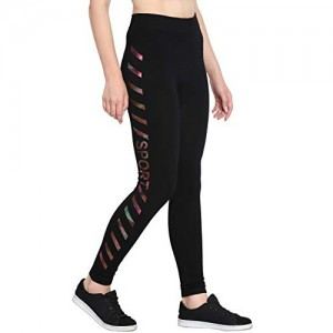 FflirtyGo Stretchable Track Pant, Gym Wear Yoga Exercise Walk Jogging Workout Active Sports Aerobics Fitness or Everyday Lower Leggings Tights for Women,