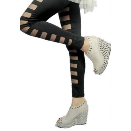 bcf311f43823b Buy Kaamastra Cut Latex Leggings online | Looksgud.in