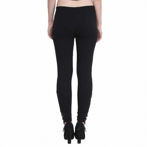 676647b8a47b5 Alishah Ankle Length Leggings With Peacock Pach for Women and Girls, PLUS  13 Colors, ...
