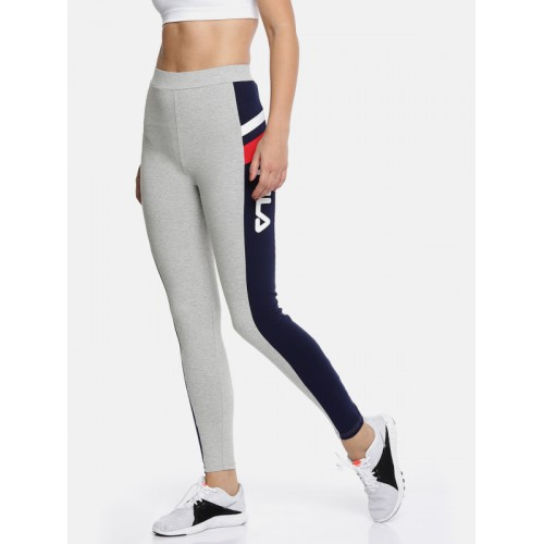 FILA Women Grey Melange GRETA Track Pants