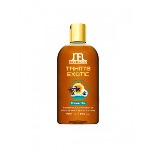 Man Arden Unisex Tahiti's Exotic Shower Gel-300 ml