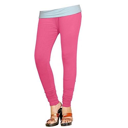1c35a796654da0 ... Naisargee Super Soft Multicolor Silk Poly Cotton Churidar Full Length  Leggings 33 Colors for Women's and ...