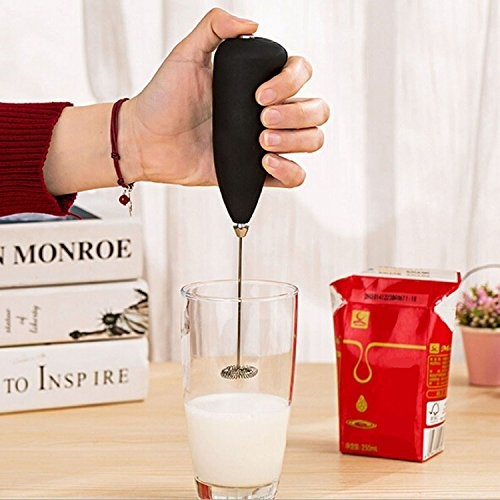 Hongxin Classic Sleek Design Hand Blender for Cafe Latte, Espresso, Cappuccino, Lassi