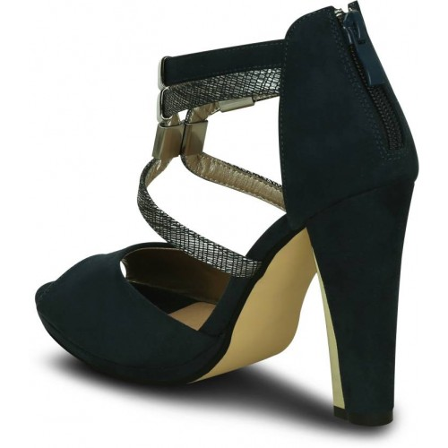 Kielz Women Navy Blue Heels