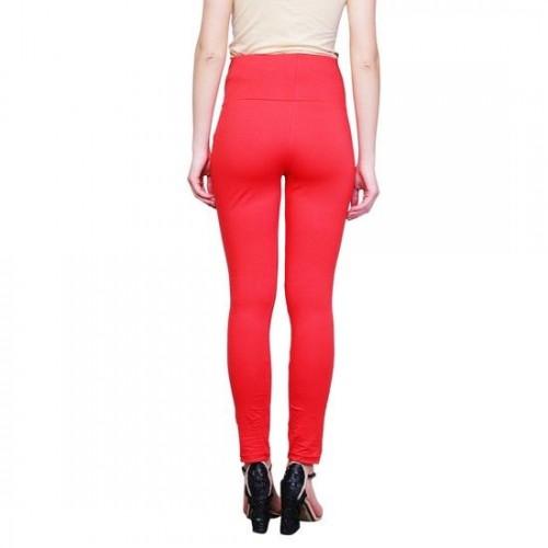 3c5ee45cc3911 Buy Finesse Maternity Leggings Cotton Lycra P1 Red online | Looksgud.in