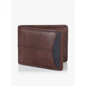 Levis 77173-0855 Brown Leather Wallet
