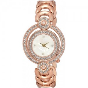 BRITTON BR-LR025-WHT-CH Analog Watch - For Women