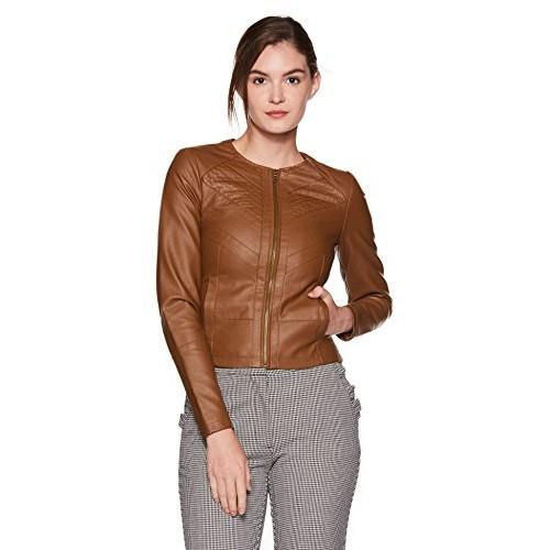 7d03008640ac2 Buy VERO MODA Brown Women's Jacket online | Looksgud.in