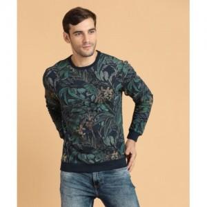Peter England Full Sleeve Floral Print Men's Sweatshirt