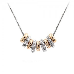 Yellow Chimes Golden Collection Pendant Necklace for Women (YCFJNK-N18RNG-GL)