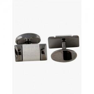 Tossido Grey & Black Metal Cufflinks