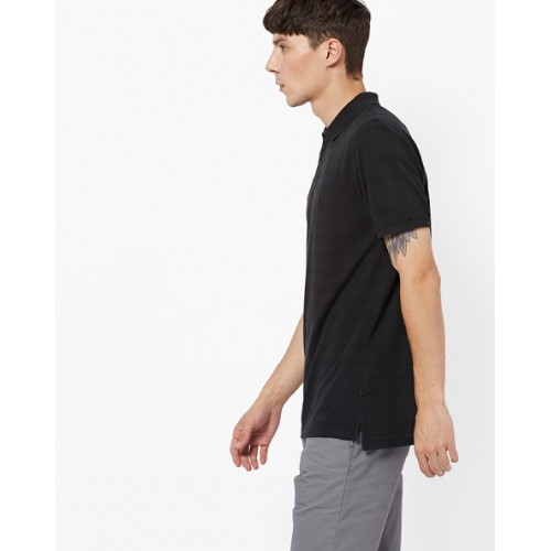 INDIAN TERRAIN Slim Fit Checked Polo T-shirt